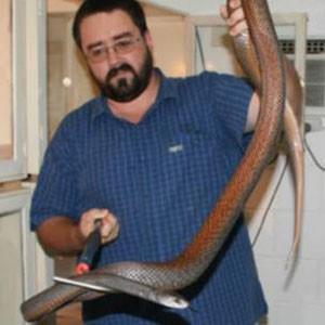 Williams dedicou sua vida a ajudar pessoas picadas por cobra. Foto: Arquivo pessoal
