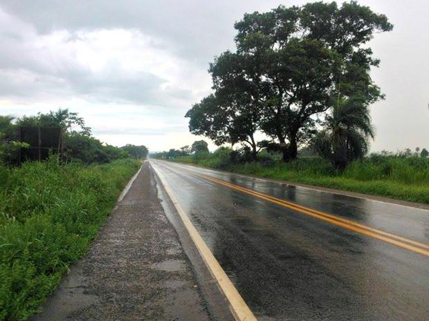 Acidentes foram registrados em trecho de 51 km em MT (Foto: Antônio Miguel Olivo Neto/Arquivo Pessoal)