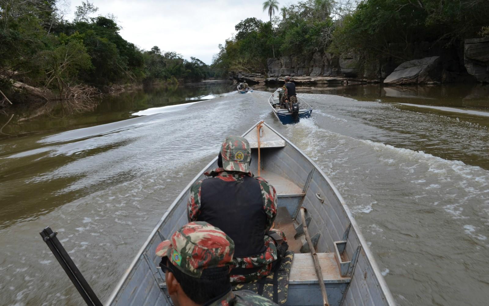 PMA iniciou na manhã desta quarta-feira a operação Independência (Foto: PMA/Divulgação)